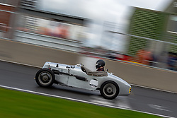 Archie Waterfield pictured while competing in the 750 Motor Club's Historic 750 Formula race series. Picture taken at Snetterton on October 17, 2020 by 750 Motor Club photographer Jonathan Elsey