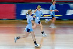 at practice of Slovenian Handball Women National Team, on June 3, 2009, in Arena Kodeljevo, Ljubljana, Slovenia. (Photo by Vid Ponikvar / Sportida)