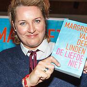 NLD/Amsterdam/20151027 - Boekpresentatie Margriet van der Linden - De Liefde Niet, Margriet