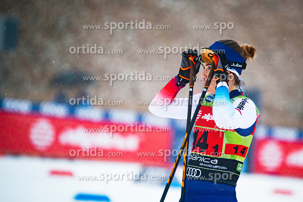 Laurien Van Der Graaf (SUI) before the start at the ladies team sprint race at FIS Cross Country World Cup Planica 2019, on December 22, 2019 at Planica, Slovenia. Photo By Peter Podobnik / Sportida