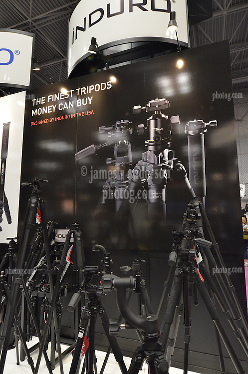 Tripods by Induro. As seen at The NYC PhotoExpo 2011