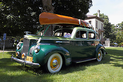 01 August 2015:  1941 Packard <br /> <br /> Displayed at the McLean County Antique Automobile Association Car show at David Davis Mansion in Bloomington Illinois