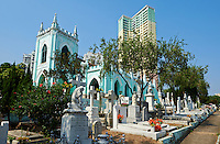 Chine, Macao, cimetiere San Miguel // China, Macau, St. Michael Cemetery