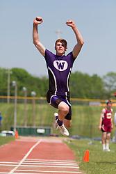 boys triple jump, Maine State Track & FIeld Meet - Class B