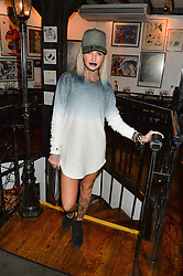 JEMMA LUCY at a party hosted by Fred Sirieix, Maître d' on Channel 4's 'First Dates' at his favourite Spanish restaurant, El Pirata, 5-6 Down Street, London to celebrate the publication of his new book 'First Dates: The Art of Love' on 10th October 2016.