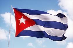 Cuban flag,
