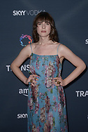HARI NEF at the premiere of Amazon's 'Transparent' season two at the Pacific Design Center in Los Angeles, California