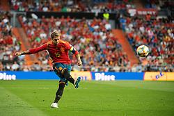 June 10, 2019 - Madrid, SPAIN - 190610 Sergio Ramos of Spain during the UEFA Euro Qualifier football match between Spain and Sweden on June 10, 2019 in Madrid..Photo: Joel Marklund / BILDBYRÃ…N / kod JM / 87972 (Credit Image: © Joel Marklund/Bildbyran via ZUMA Press)