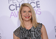 CLAIRE DANES at  the People's Choice Awards 2016 held at the ©Exclusivepix Media
