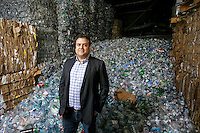 Sepand  Samzadeh,  CEO of Valley Recycling Center, at his office in Chatsworth, CA. Jan. 26, 2017.  Photo by David Sprague