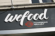 Exclusive Feature:<br /> <br /> WeFood, a supermarket that sells out of date, ugly or damaged food, has recently opened up in Copenhagen, Denmark. The supermarkets prices are 50% lower than other supermarkets.<br />  <br /> WeFoods aim is to cut down on food wastage and is Denmarks first surplus food supermarket. The foods they sell is mainly bakery and produce items and has deal with various food suppliers, including F¯tex, one of the biggest supermarket chains in Denmark.<br />  <br /> WeFood was set up by charity, Folkekirkens Nodhjaelp. A team of volunteers visits supermarkets at the end of each day to collect the expired products.<br />  <br /> The supermarket even has the backing of the Danish government, with the Danish minister for food and environment, Eva Kjer Hansen, commenting on how ridiculous it is that food is thrown out or goes to waste.<br /> ©Exclusivepix Media