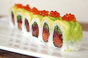 Tuna Inside out Sushi with caviar