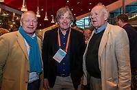 UTRECHT - Joost Vettorato, Lex Donia en Wim Cornelissen. Het KNHB Nationaal Hockey Congres 2020, Samen werken aan de   toekomst. COPYRIGHT  KOEN SUYK