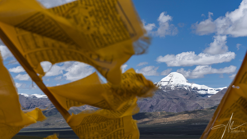 Mount Kailash in Ngari of Tibet, is considered as the sacred mountain by many religionists.