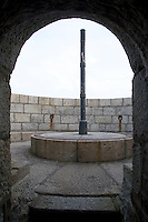 Archway to the top of The James Joyce Martello tower museum in Sandycove Dublin Ireland