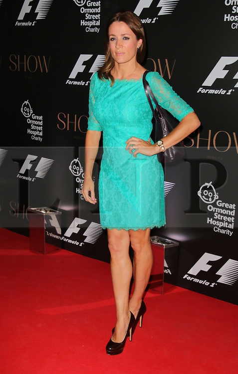 Natalie Pinkham, F1 Party in aid of Great Ormond Street Hospital Children's Charity, Victoria and Albert Museum, London UK, 02 July 2014, Photo by Richard Goldschmidt © Licensed to London News Pictures. 03/07/2014