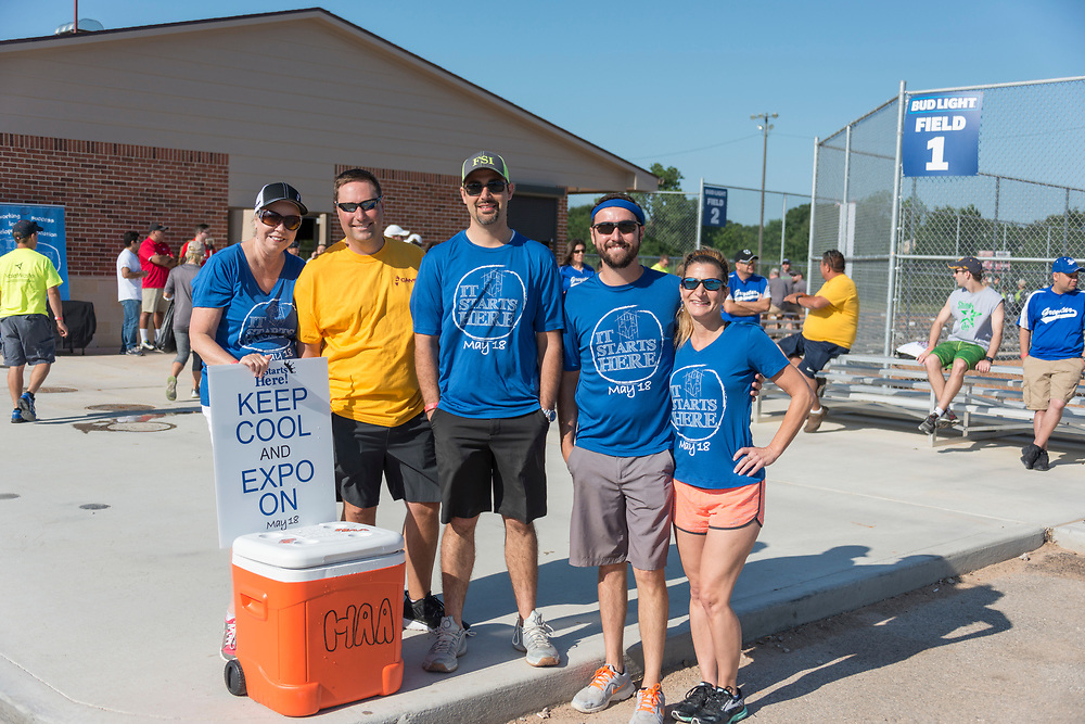 Photograph from the 2017 Houston Apartment Association Sports Challenge event on Friday, May 12, at the Houston Sportsplex on Highway 90. (Photograph by Mark Hiebert, HiebertPhotography.com)