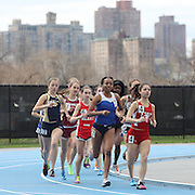 High School athletes in action during the 2013 NYC Mayor's Cup Outdoor Track and Field Championships at Icahn Stadium, Randall's Island, New York USA.13th April 2013 Photo Tim Clayton