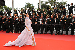 Mallika Sherawat attends the screening of Sorry Angel (Plaire, Aimer Et Courir Vite) during the 71st annual Cannes Film Festival at Palais des Festivals on May 10, 2018 in Cannes, France. Photo by Shootpix/ABACAPRESS.COM