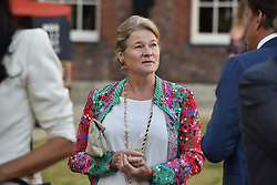 Charlene de Carvalho at the Concours d'éléphant in aid of Elephant Family held at the Royal Hospital Chelsea, London, England. 28 June 2018.