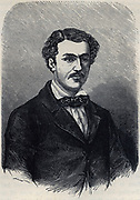 John A King (1838-1872) a member of the Burke and Wills expedition to explore the  interior of  Australia.