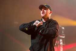 October 26, 2016 - Madison, Wisconsin, U.S - Rapper MAC MILLER (MALCOLM JAMES MCCORMICK) performs live at the Orpheum Theatre in Madison, Wisconsin (Credit Image: © Daniel DeSlover/ZUMA Wire)