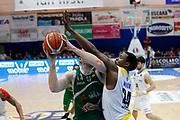 Fesenko Kyrylo Knox Justin<br /> Betaland Capo d'Orlando - Sidigas Avellino <br /> Campionato Basket Lega A 2017-18 <br /> Capo d'Orlando 22/04/2018<br /> Foto Ciamillo-Castoria