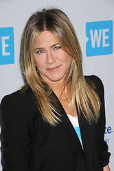 April 19, 2018 - Los Angeles, California, U.S. - Actress JENNIFER ANISTON at the 'We Day California Young People Chaning The World' held at the Forum. (Credit Image: © Paul Fenton/ZUMA Wire)