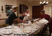 Mennonite dining set for tourists, Lancaster Co., PA