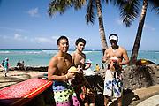 Shave Ice, Waikiki Beach,Honolulu, Oahu, Hawaii
