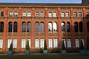 The John Madejski Garden in the inner quadrangle, Victoria and Albert Museum In London UK on 14th October in London, United Kingdom