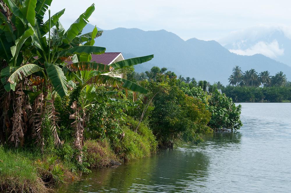 Scenic in Indonesia, Sumatra, Aceh.