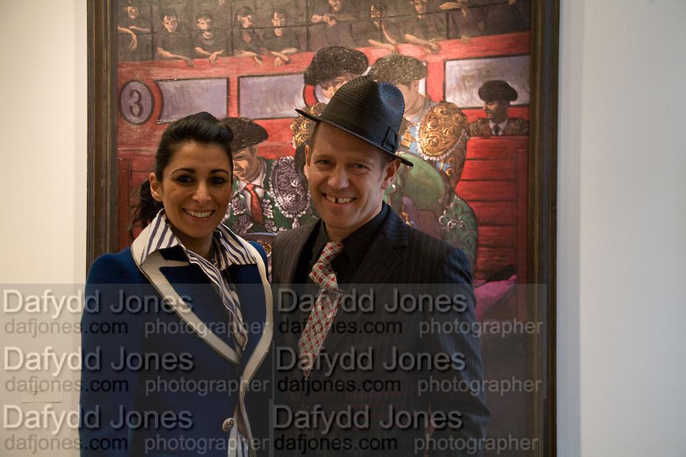 SERENA REES AND PAUL SIMONON, Paul Simonon  *** Local Caption *** -DO NOT ARCHIVE-© Copyright Photograph by Dafydd Jones. 248 Clapham Rd. London SW9 0PZ. Tel 0207 820 0771. www.dafjones.com.