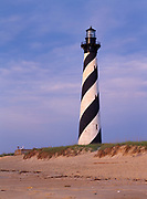 Cape Hatteras Lighthouse, Cape Hatteras National Seashore, North Carolina.