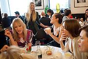 JADE PARFITT; CHARLOTTE DELLAL; VALENTINE FILLOL CORDIER, The launch of the Belvedere Bloody Mary Brunch to London's Caprice. Le Caprice. Arlington st. London. 7 April 2011.  -DO NOT ARCHIVE-© Copyright Photograph by Dafydd Jones. 248 Clapham Rd. London SW9 0PZ. Tel 0207 820 0771. www.dafjones.com.