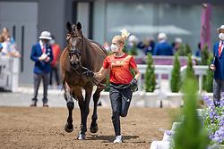 Von Bredow-Werndl Jessica, GER, TSF Dalera BB, 139<br /> Olympic Games Tokyo 2021<br /> © Hippo Foto - Dirk Caremans<br /> 23/07/2021