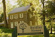 Berks County, Pennsylvania, Historic Beidler House, Gibraltar