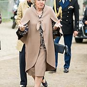 NLD/Apeldoorn/20190402 - Beatrix opent tentoonstelling The Garden of Earthly Worries , Prinses Beatrix