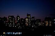 Belo Horizonte _ MG, Brasil..Imagem noturna de Belo Horizonte no bairro Lourdes, Minas Gerais...The night image in Belo Horizonte in the Lourdes neighborhood, Minas Gerais...Foto: JOAO MARCOS ROSA / NITRO