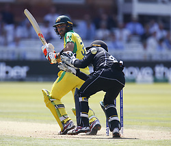 June 29, 2019 - London, United Kingdom - Glenn Maxwell of Australia.during ICC Cricket World Cup between New Zealand and Australia at the Lord's Ground on 29 June 2019 in London, England. (Credit Image: © Action Foto Sport/NurPhoto via ZUMA Press)