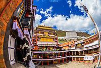 Tashilhunpo Monastery, Shigatse, Tibet (Xizang), China.