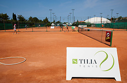 Festival Tenisa deckov in deklic 14 - 18 let during Day One of tennis tournament ATP Challenger Tilia Slovenia Open 2013 on July 2, 2013 in SRC Marina, Portoroz / Portorose, Slovenia. (Photo by Vid Ponikvar / Sportida.com)