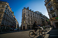 A Cyclist in Pigalle