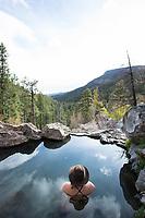 Hot springs in the Jemez Valley, NM.