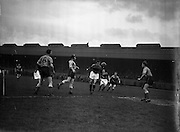 15/02/1958<br /> 02/15/1958<br /> 15 February 1958<br /> Soccer: FAI Cup game, Bohemians v Evergreen United at Dalymount Park, Dublin.