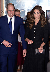The Duke and Duchess of Cambridge attending a special performance of Dear Evan Hansen, at the Noël Coward Theatre, which is being held in aid of The Royal Foundation. Photo credit should read: Doug Peters/EMPICS