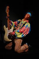 France, Paris (75), Musée Grévin, Jimi Hendrix // France, Paris, Grevin museum, Jimi Hendrix