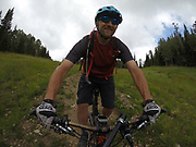 SHOT 8/5/17 12:55:55 PM - GoPro Hero 5 photos while riding Brian Head Resort in Brian Head, Utah with Vesta Lingvyte of Denver, Co. (Photo by Marc Piscotty / © 2017)