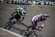 #21 (REYNOLDS Lauren) AUS at Round 10 of the 2019 UCI BMX Supercross World Cup in Santiago del Estero, Argentina