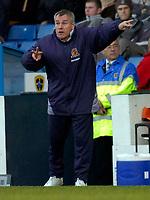 Photo: Alan Crowhurst.<br />Cardiff City v Hull FC. Coca Cola Championship. 18/02/2006. <br />Hull coach Peter Taylor isn't happy.